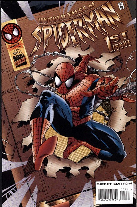 Untold Tales of Spider-Man #1 – 25 + Flashback + Annual