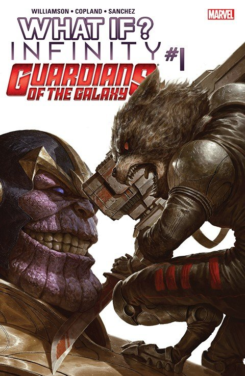 What If Infinity – Guardians of the Galaxy #1