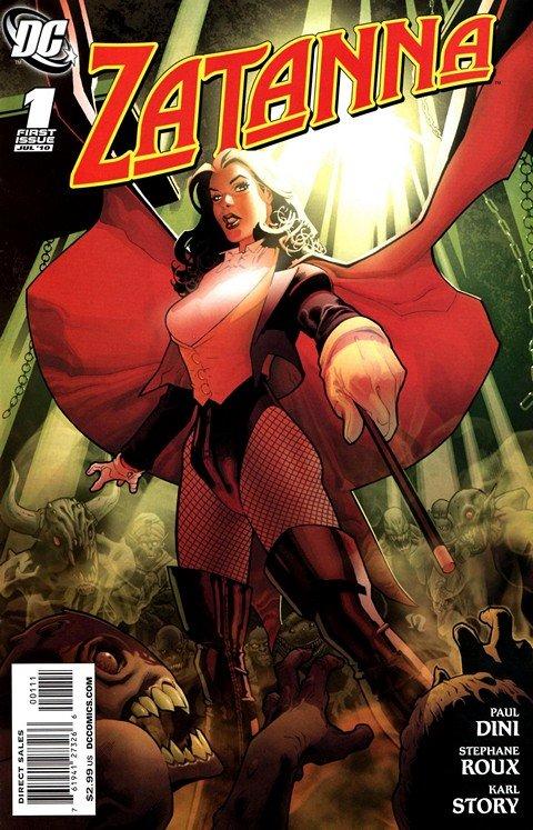Zatanna #1 – 16 (2010-2011)