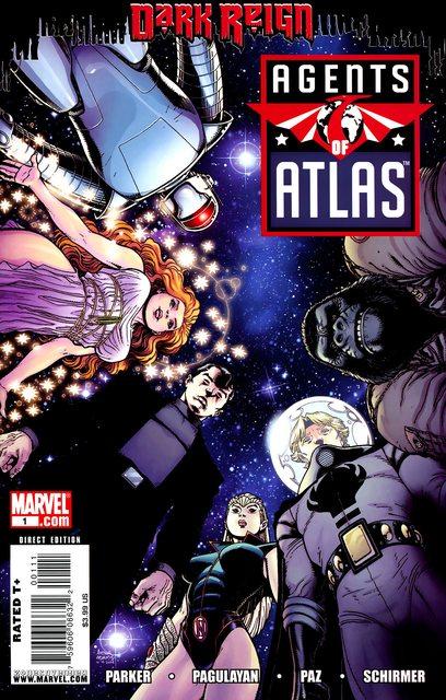 Agents of Atlas Vol. 2 #1 – 11