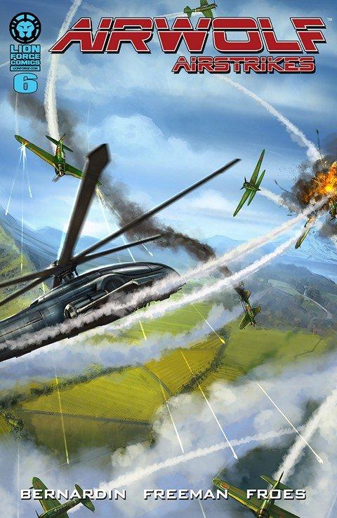 Airwolf Airstrikes – Sanctioned #6