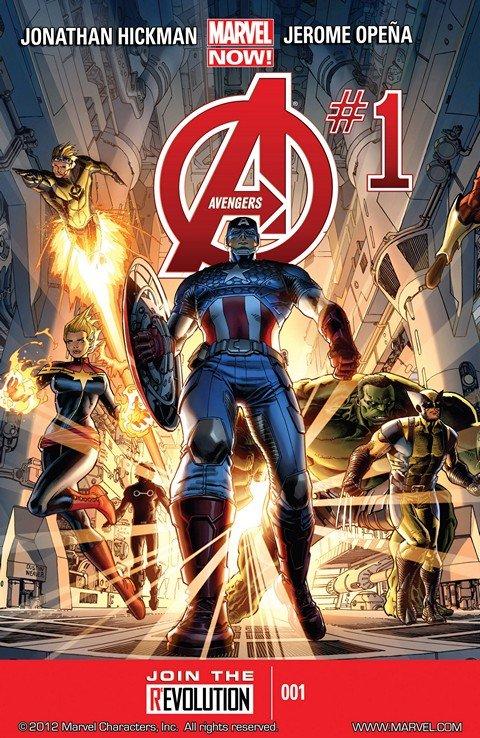 Avengers Vol. 5 #1 – 44 + Annual (2013-2015)
