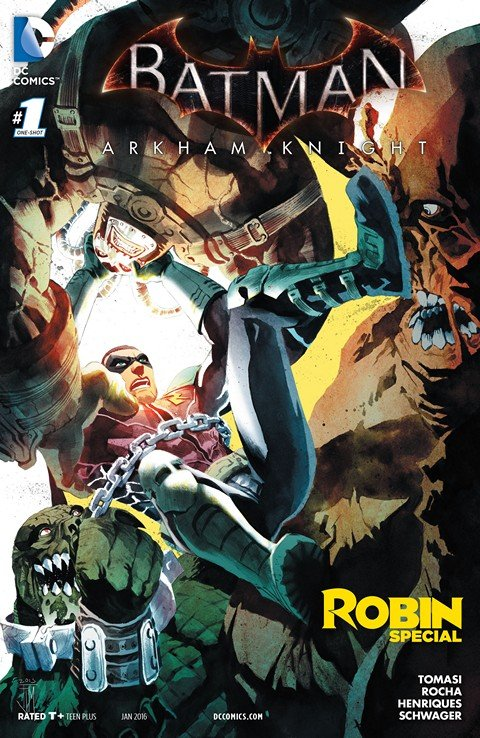 Batman – Arkham Knight – Robin Special #1