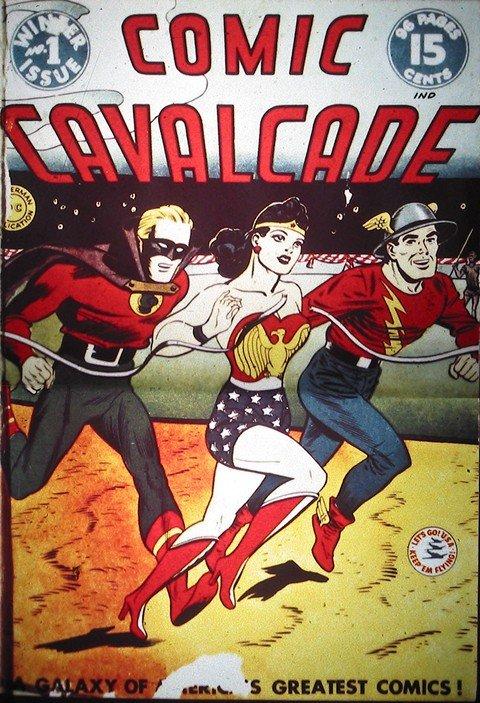 Comic Cavalcade #1 – 63
