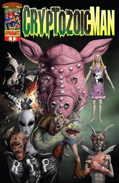 Cryptozoic Man #1 – 4 (2013-2014)