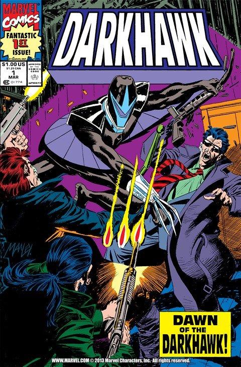 Darkhawk Vol. 1 #1 – 51 + Annual #1 – 3 (1991-2018)