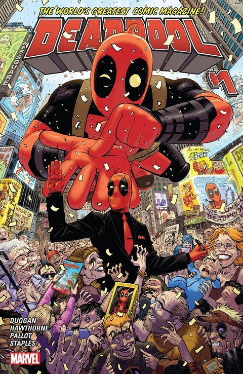 Deadpool Vol. 4 #1 – 36 + Annual (2015-2017)