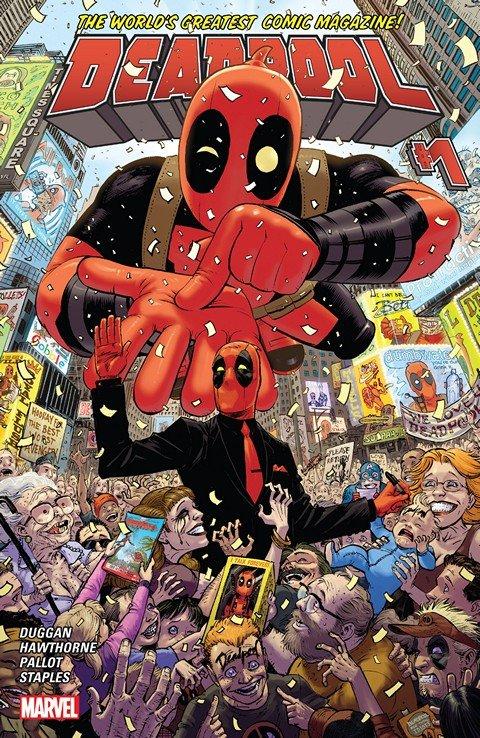 Deadpool Vol. 4 #1 – 36 + Annual (2015-2017)