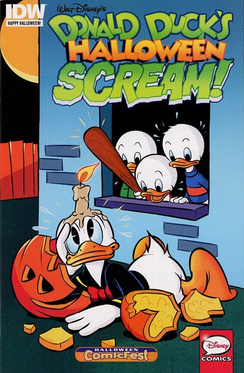 Donald Duck's Halloween Scream