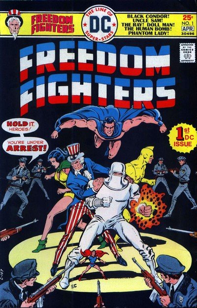 Freedom Fighters Vol. 1 #1 – 15 (1976-1978)