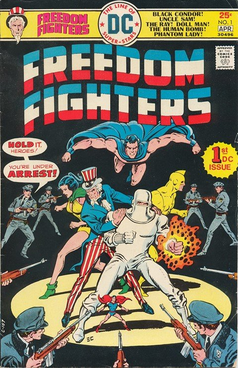 Freedom Fighters Vol. 1 #1 – 15