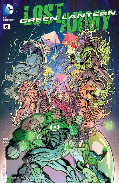 Green Lantern – Lost Army #6