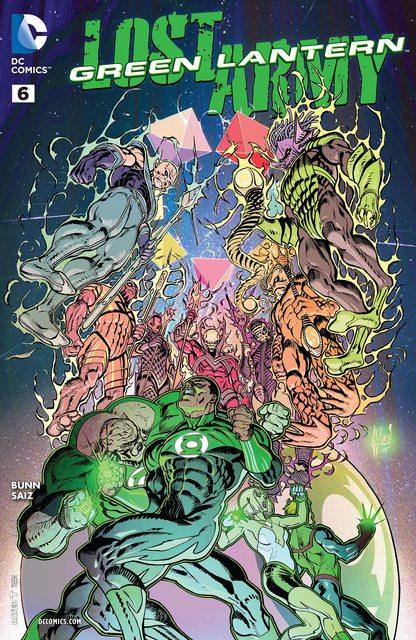 Green Lantern – Lost Army #6