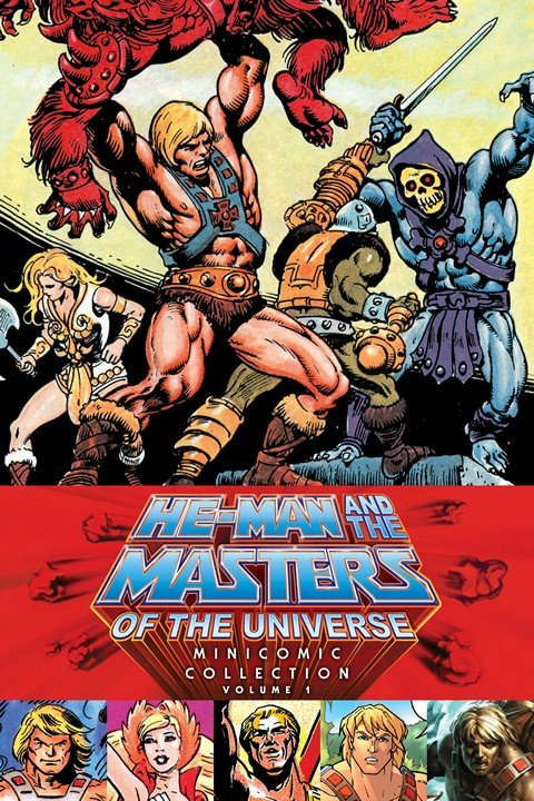 He-Man & Masters of Universe – Minicomic Collection Vol. 1 – 2 (2015)