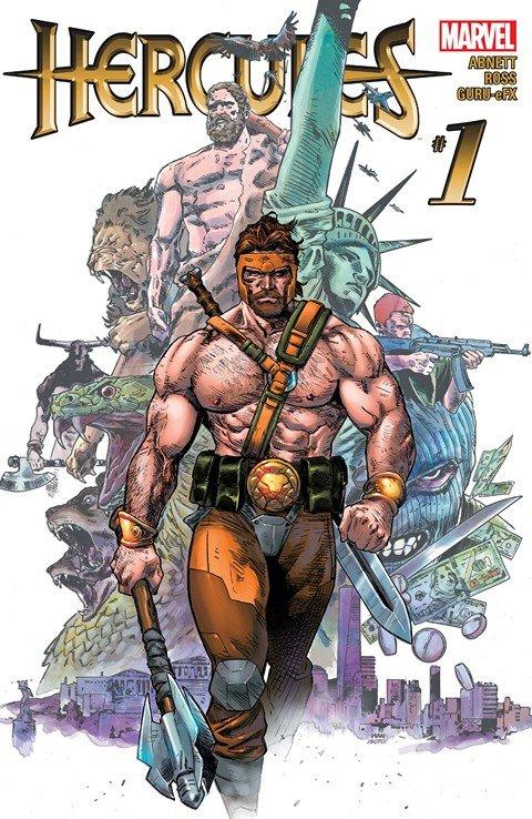 Hercules Vol. 4 #1 – 6 (2016)