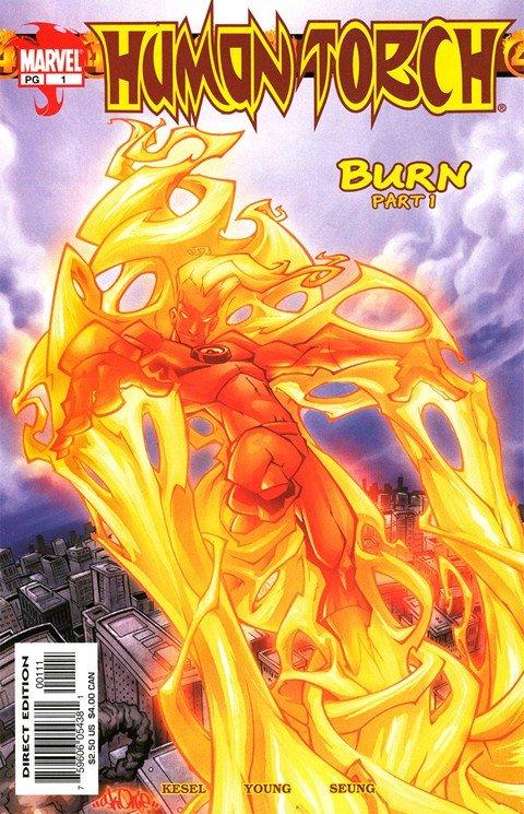 Human Torch Vol. 1 – 3 + Extras