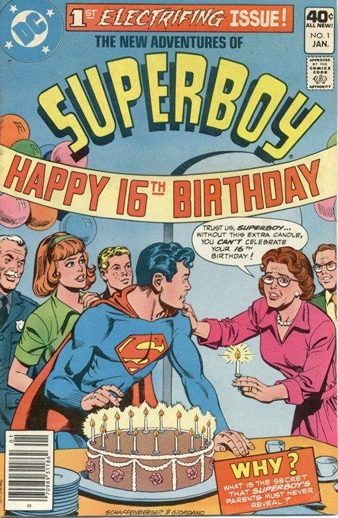 New Adventures of Superboy #1 – 54