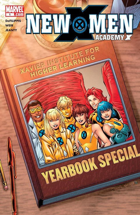 New X-Men – Academy X Yearbook #1