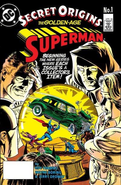 Secret Origins Vol. 2 #1 – 50 + TPB + Annuals + Special (1986-1990)