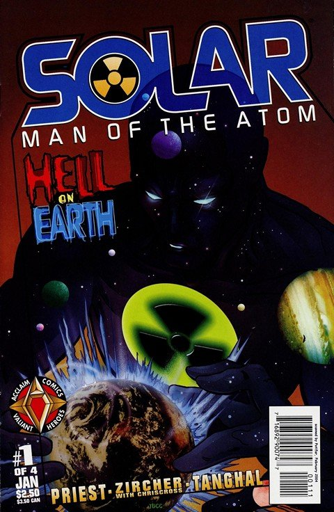 Solar, Man of the Atom – Hell on Earth #1 – 4