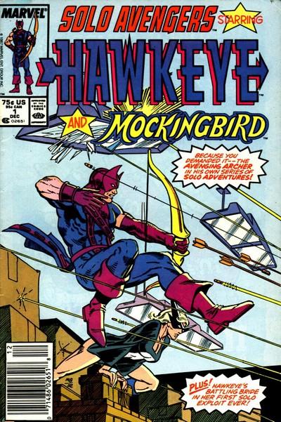 Solo Avengers – Avengers Spotlight #1 – 40 (1987-1991)