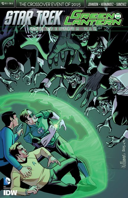 Star Trek Green Lantern The Spectrum Wars #5