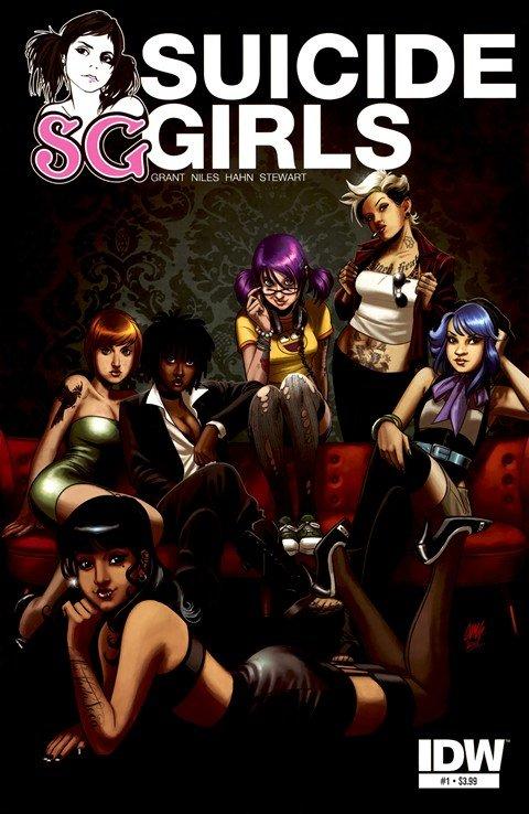 Suicide Girls #1 – 4 (2011)