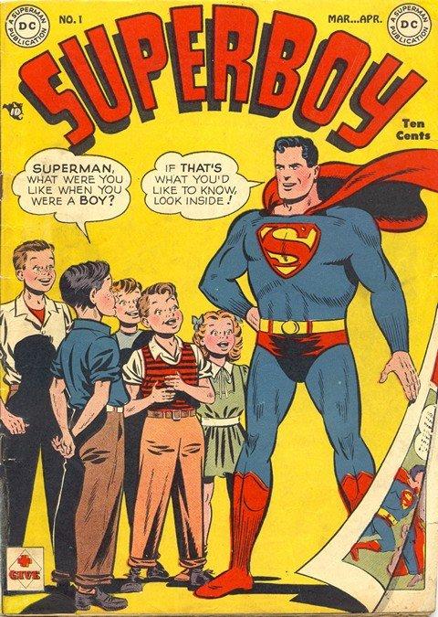 Superboy Vol. 1 #1 – 230 + Annual #1 (1949-1977)