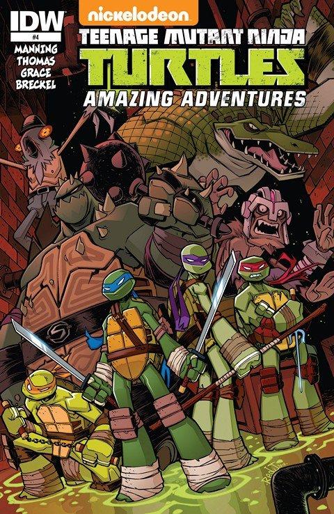 Teenage Mutant Ninja Turtles – Amazing Adventures #4
