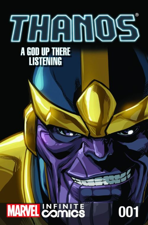 Thanos – A God Up There Listening Infinite Comic #1 – 6