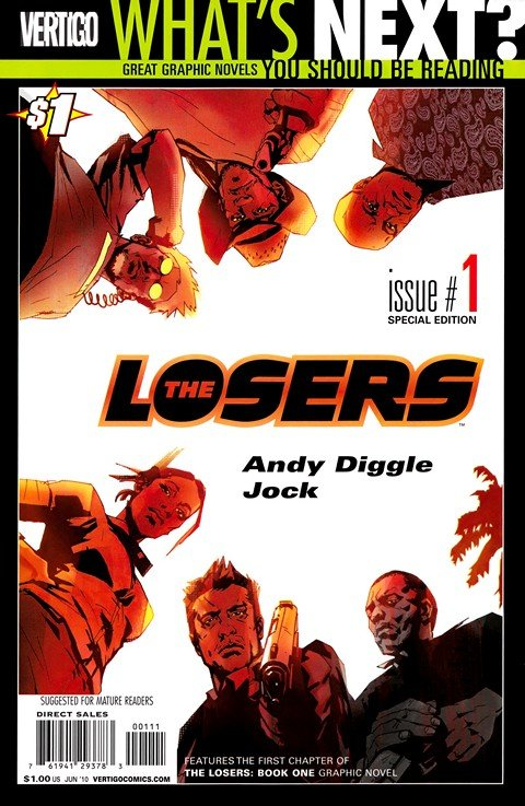 The Losers #1 – 32 (2003-2006)