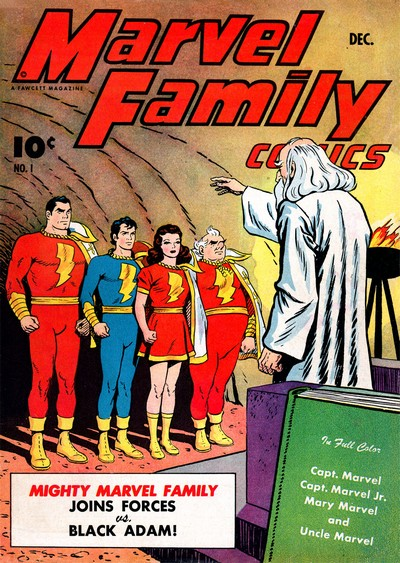 The Marvel Family #1 – 89 (1945-1954)