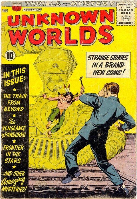 Unknown Worlds #1 – 57 (1960-1967)