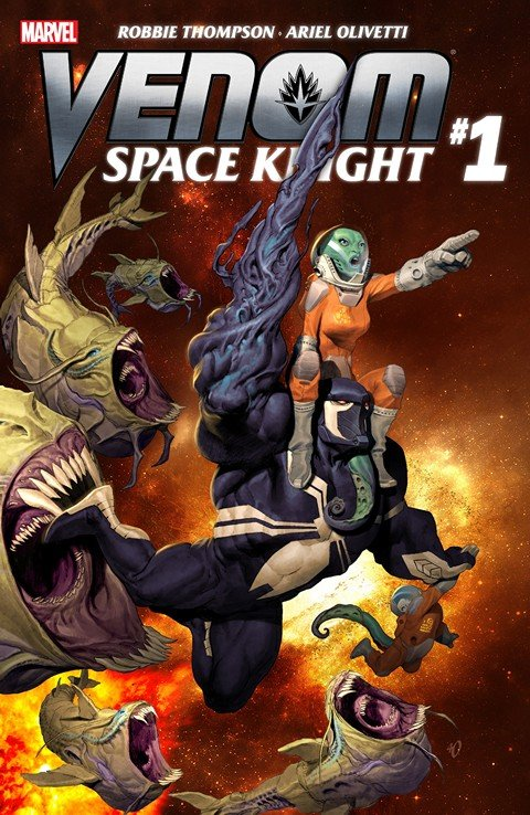 Venom – Space Knight #1 – 13 + TPBs (2016)