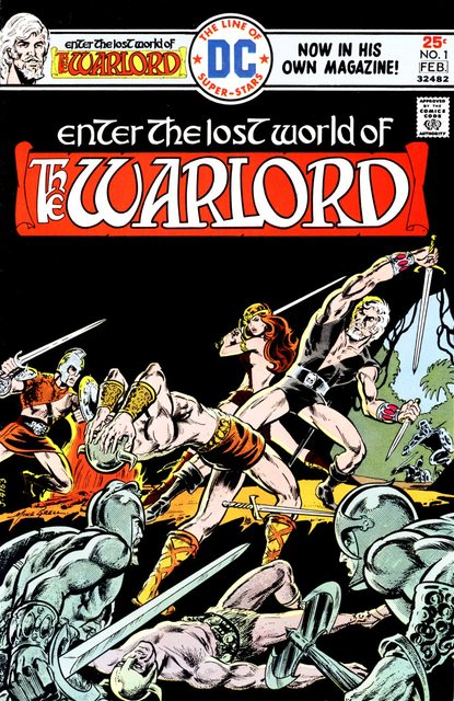 Warlord Vol. 1 – 4 (Collection) (1976-2010)