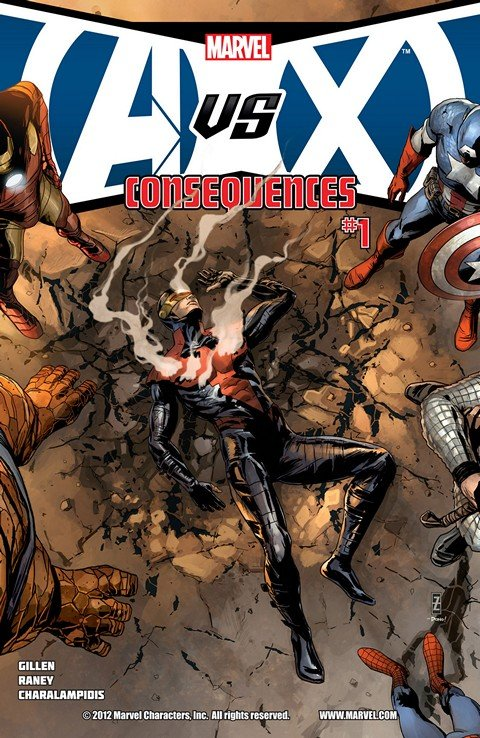 Avengers vs. X-Men (AvX) – Consequences #1 – 5