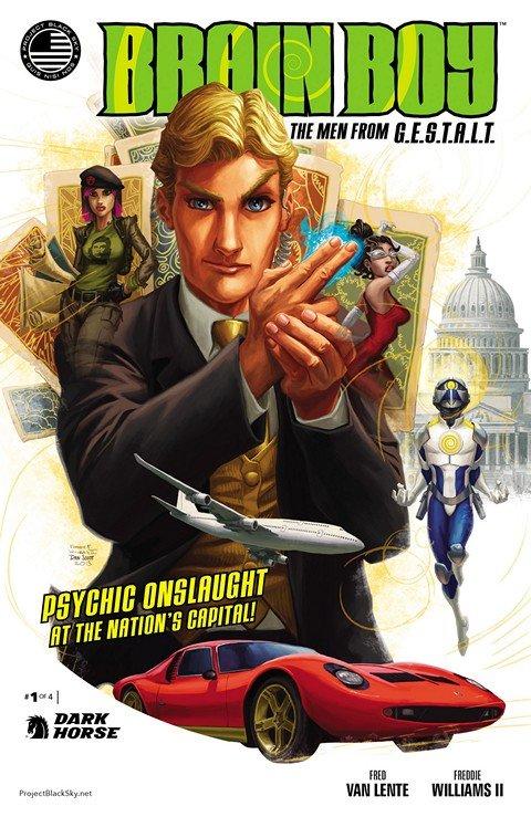 Brain Boy The Men From G.E.S.T.A.L.T. #1 – 4 (2014)