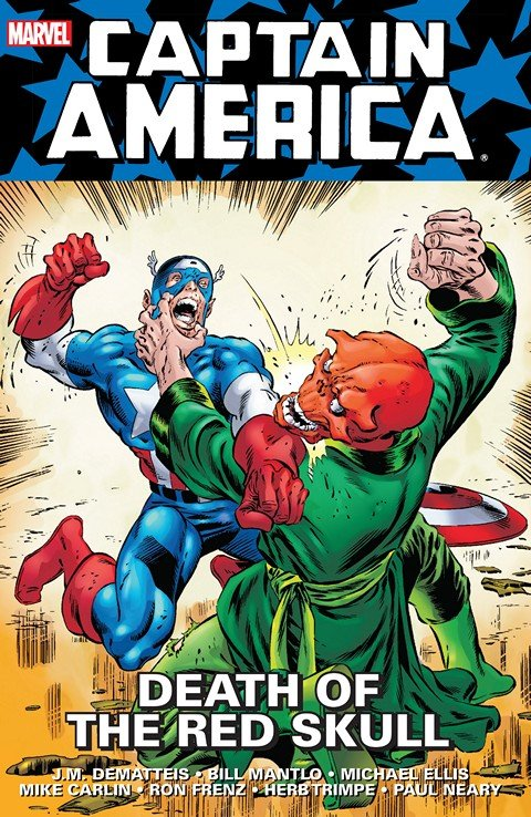 Captain America – Death Of The Red Skull