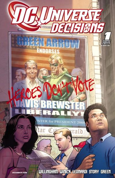 DC Universe- Decisions #1 – 4 (2008)