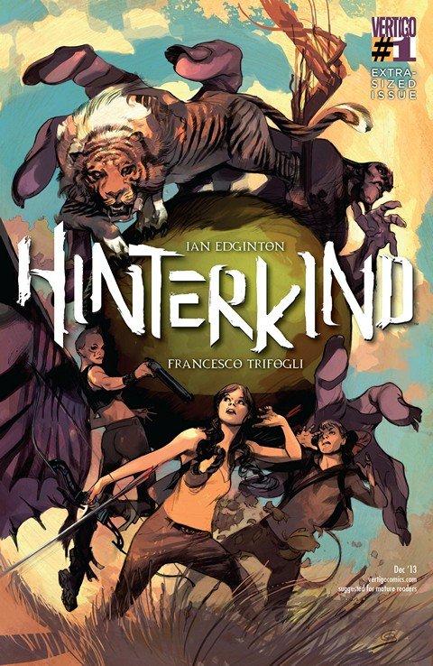 Hinterkind #1 – 18 + TPB Vol. 1 – 3 (2013-2015)