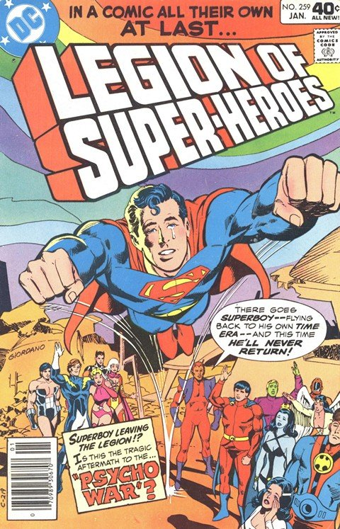 Legion of Super-Heroes Vol. 2 #259 – 313 (1980-1984)