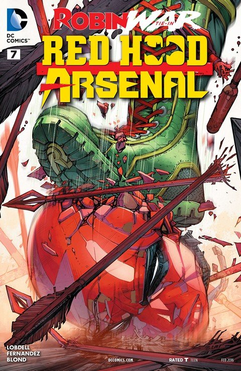 Red Hood-Arsenal #7