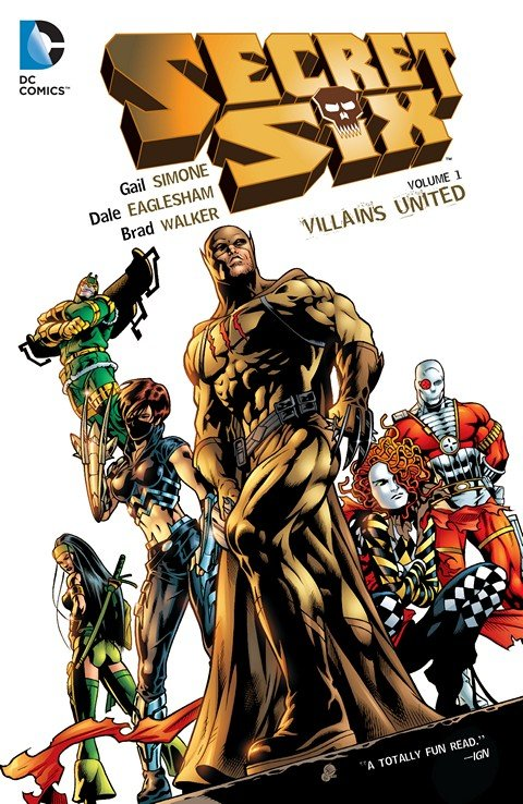 Secret Six Vol. 1 – 3 (TPB) (2015)
