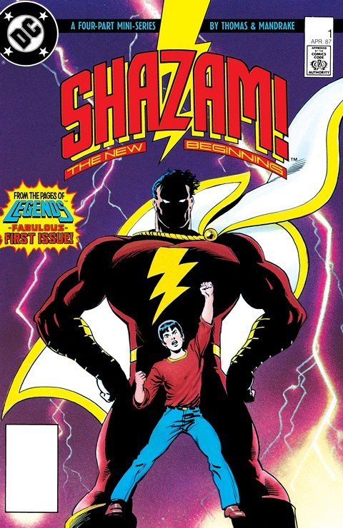 Shazam! – The New Beginning #1 – 4