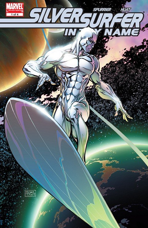 Silver Surfer – In Thy Name #1 – 4