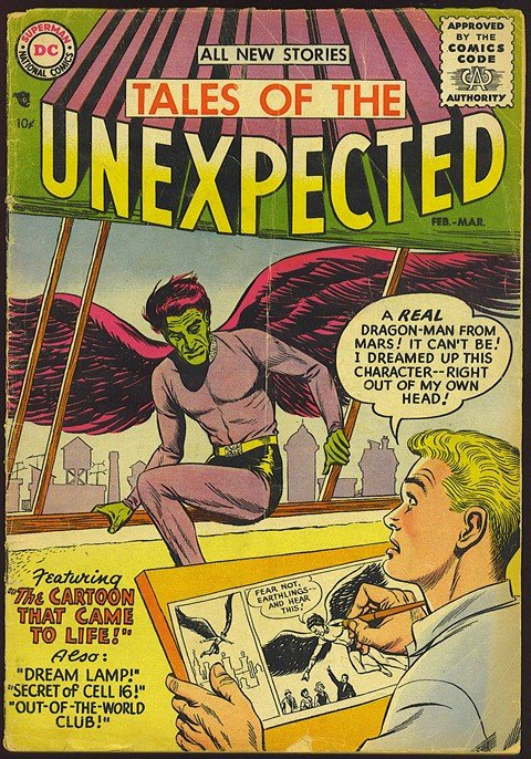 Tales of the Unexpected Vol. 1 #1 – 222 (1956-1982)