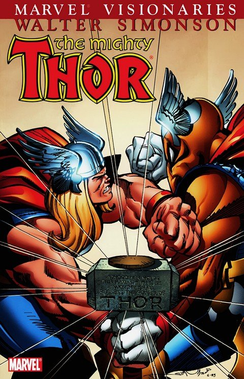 Thor Visionaries – Walter Simonson Vol. 1 – 5 (TPB)