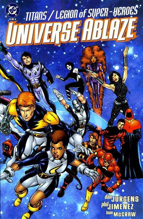 Titans & Legion Of Super-Heroes – Universe Ablaze #1 – 4