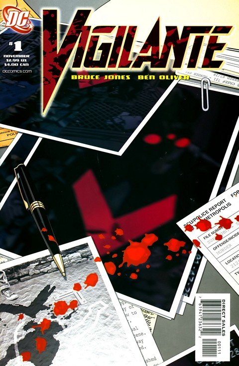 Vigilante Vol. 2 #1 – 6