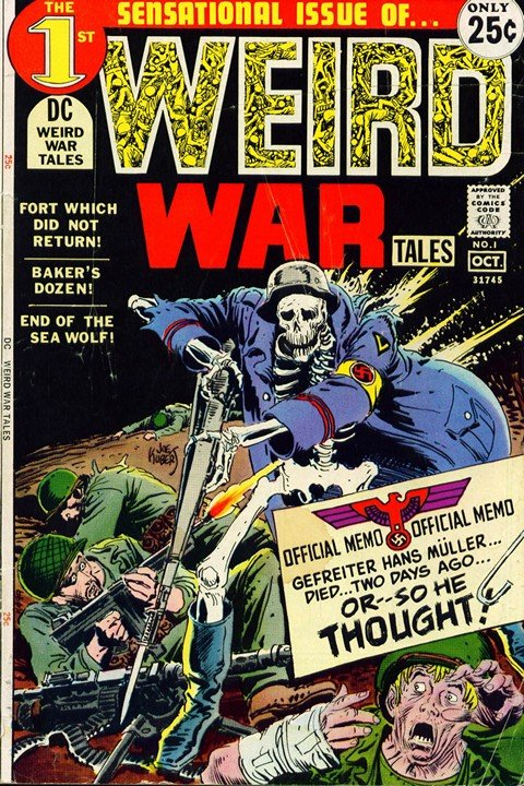 Weird War Tales #1 – 124